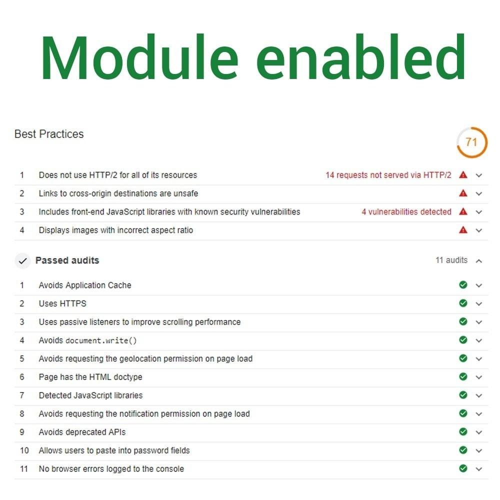 module - Website Performance - Default Passive Events - 3