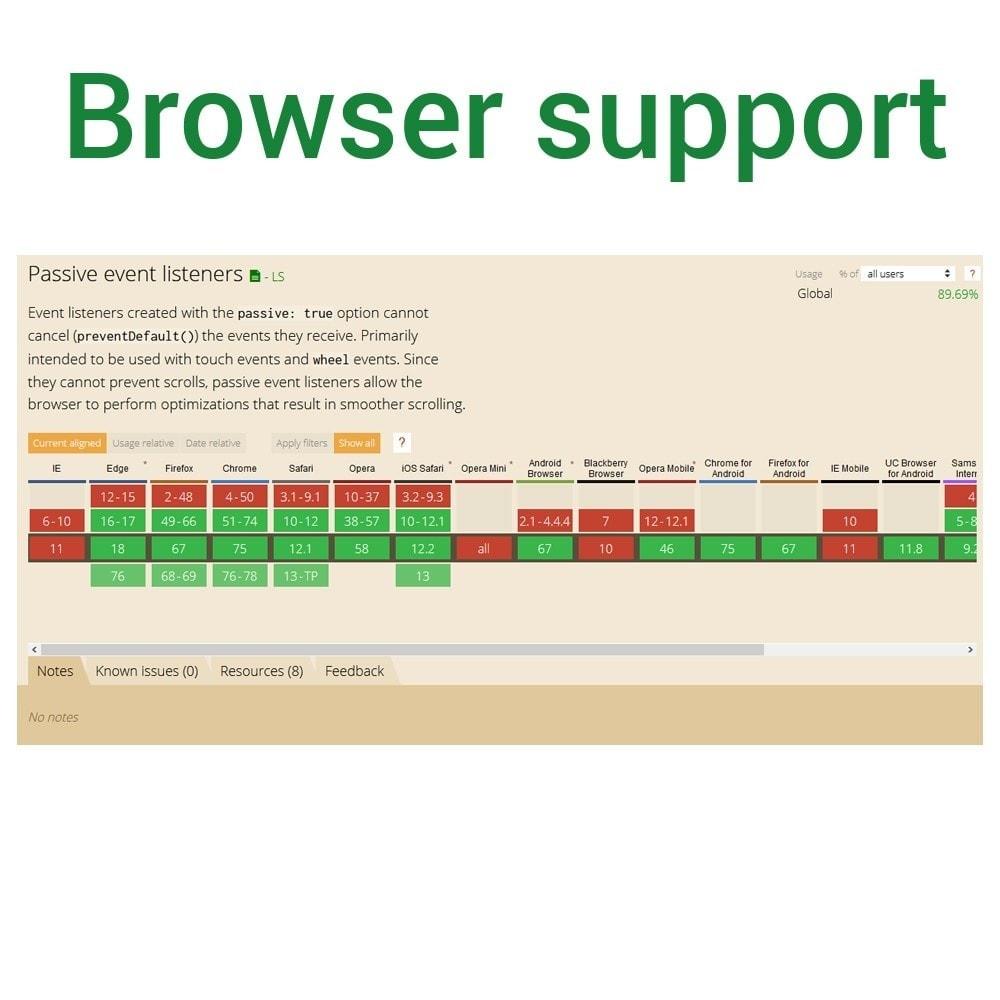 module - Website Performance - Default Passive Events - 4