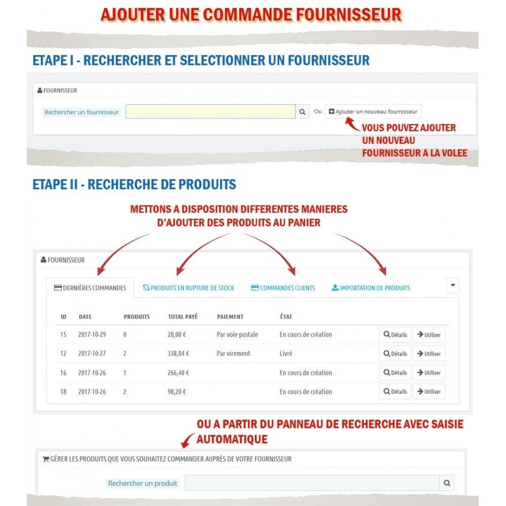 module - Gestion des Commandes - Wk Gestion Commandes Fournisseurs - 3