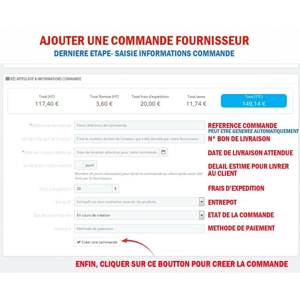 module - Gestion des Commandes - Wk Gestion Commandes Fournisseurs - 5