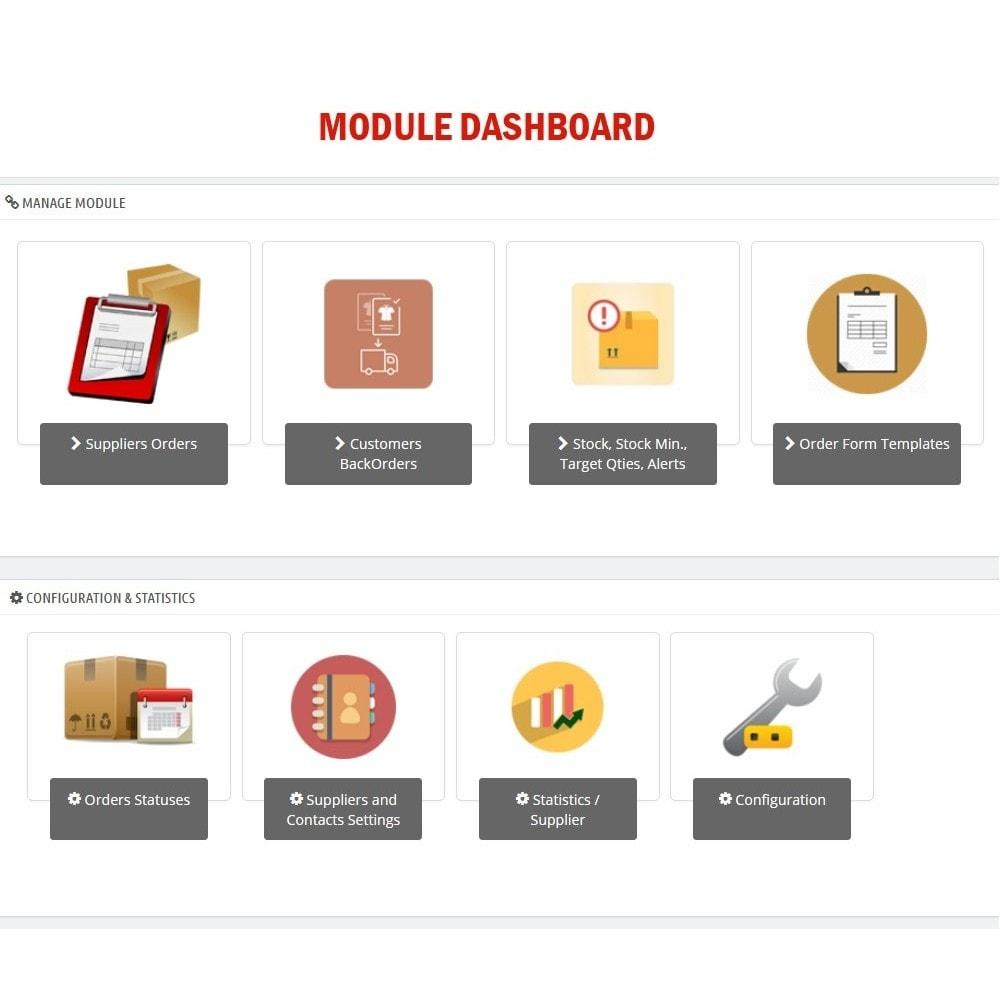 module - Orderbeheer - WK Suppliers Orders Management - 1