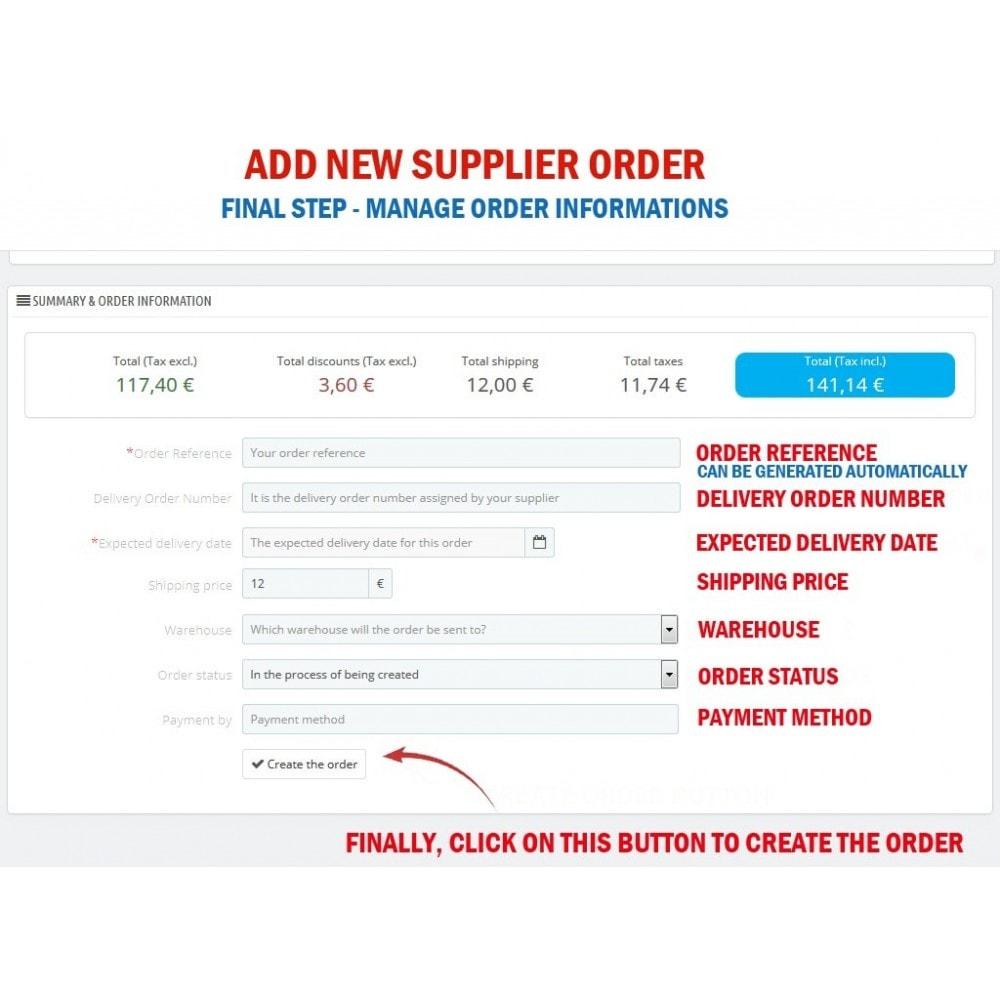 module - Orderbeheer - WK Suppliers Orders Management - 5