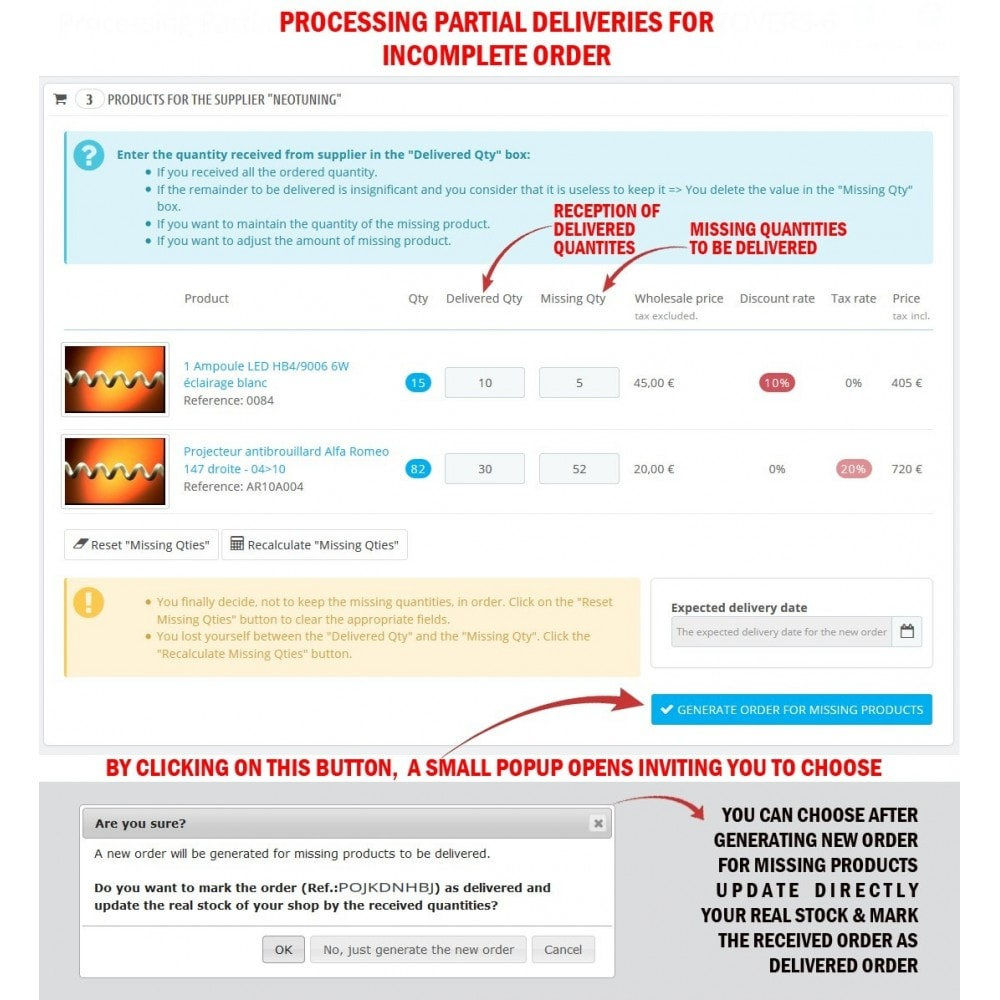 module - Orderbeheer - WK Suppliers Orders Management - 8