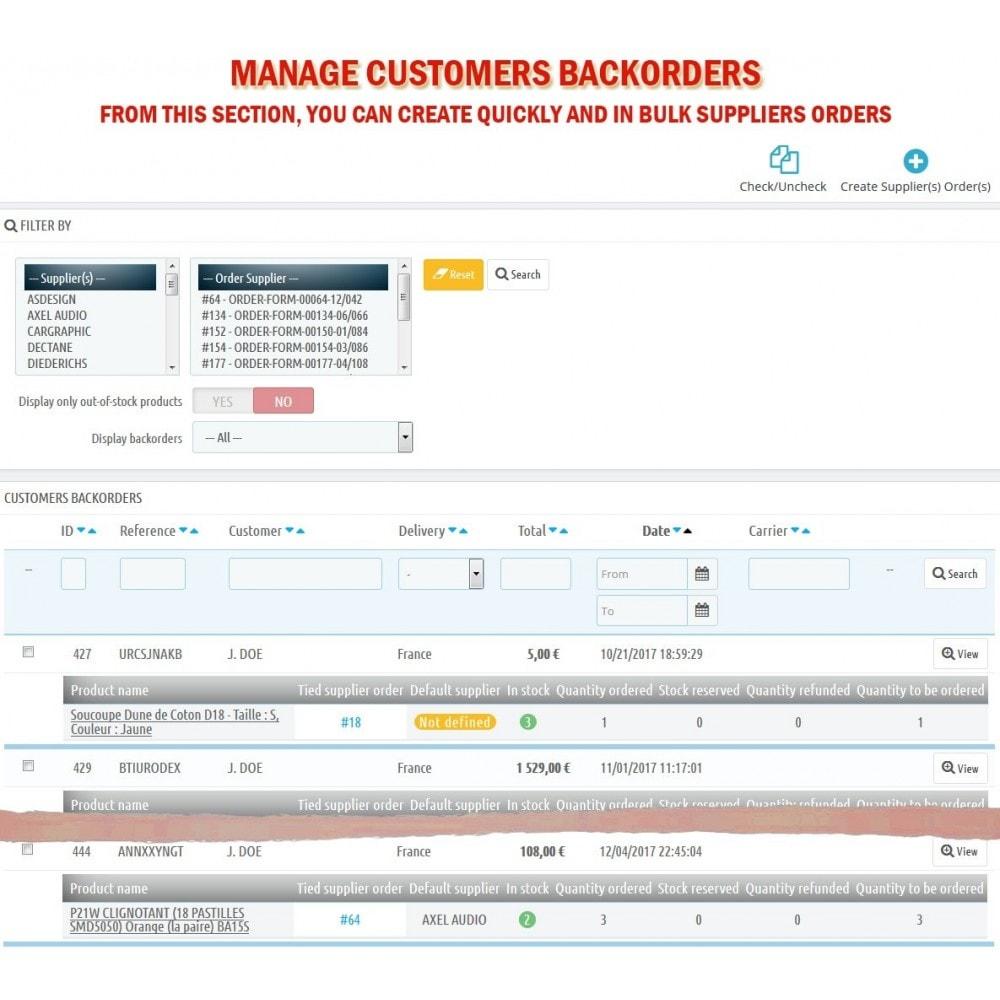 module - Orderbeheer - WK Suppliers Orders Management - 12