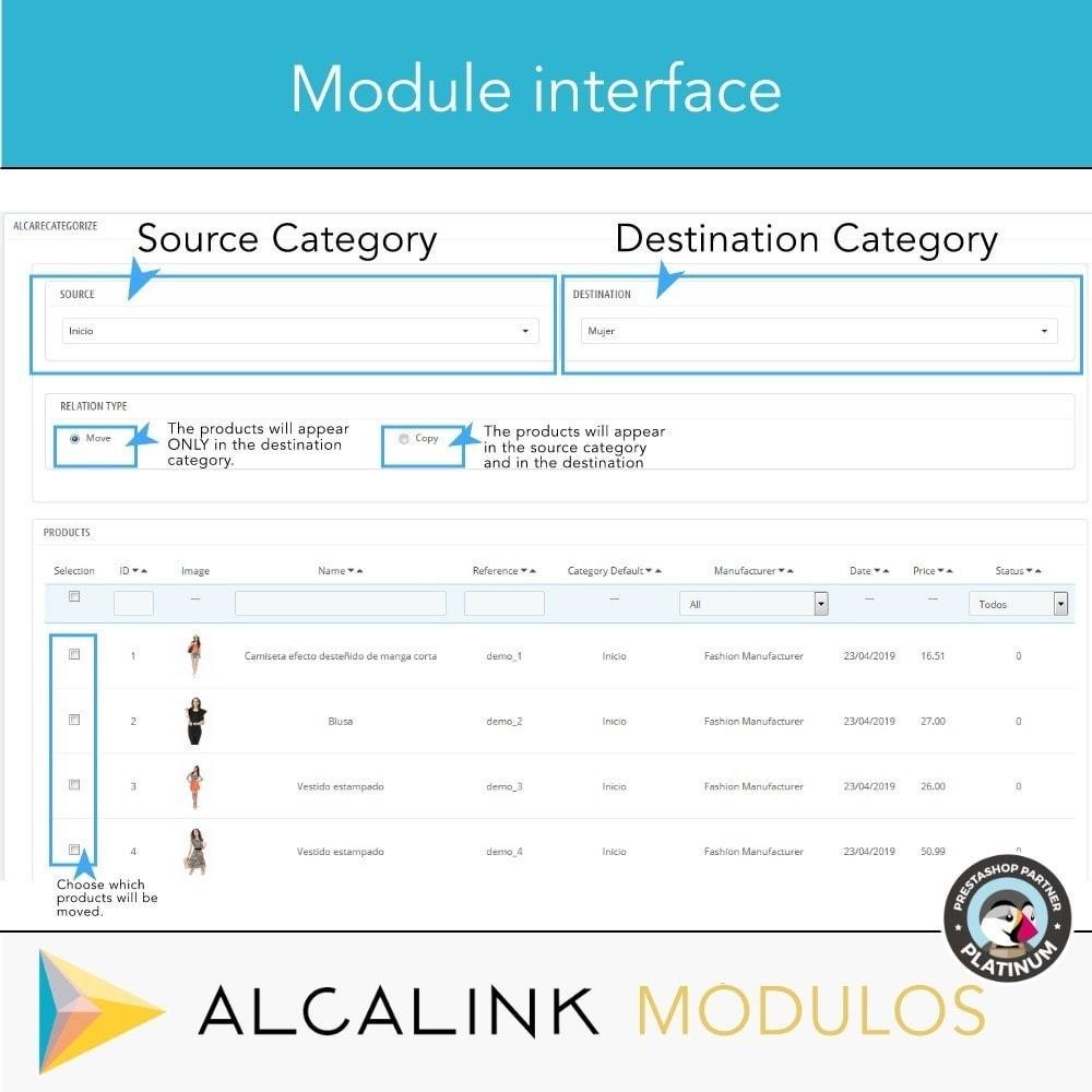 module - Edição rápida & em massa - Copy & Move Products Between Categories - Dropshipping - 5