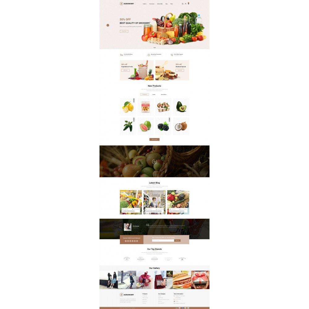 theme - Food & Restaurant - Agronomy - Organic Store - 2