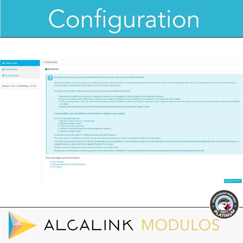 module - Remarketing & Paniers Abandonnés - Pixel - Conversions et Remarketing - 2