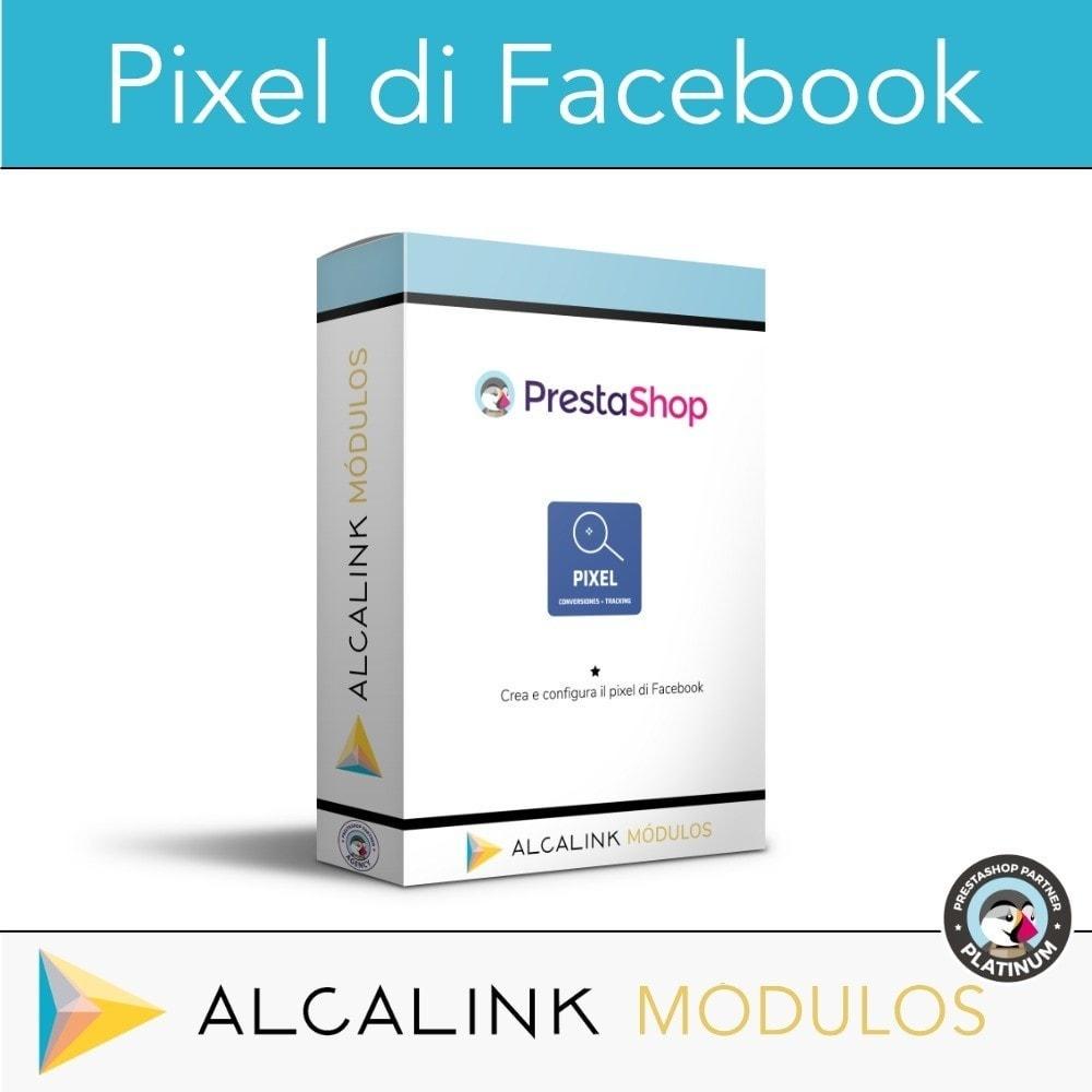 module - Remarketing & Carrelli abbandonati - Pixel - Conversioni e Remarketing - 1