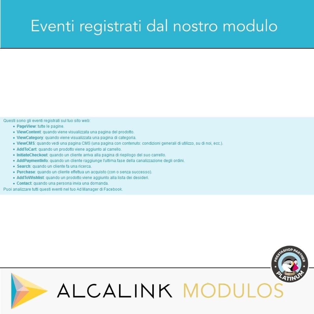 module - Remarketing & Carrelli abbandonati - Pixel - Conversioni e Remarketing - 3