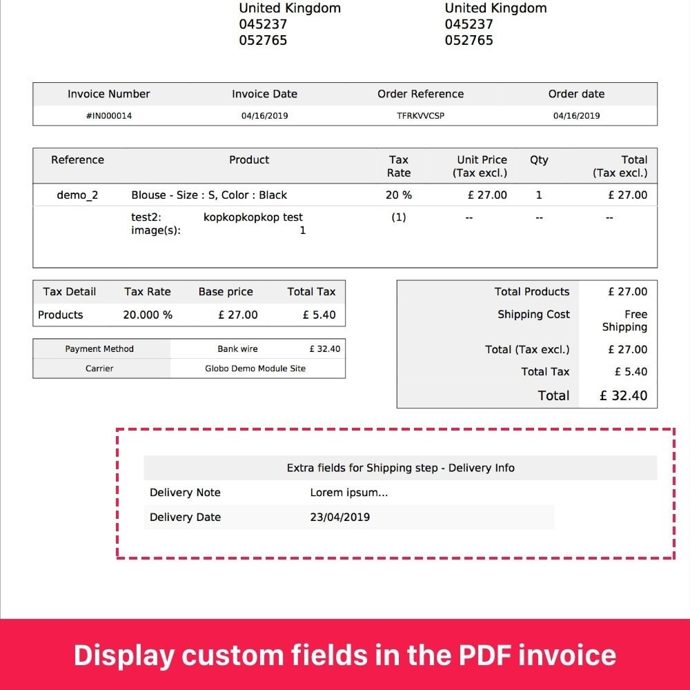 module - Iscrizione e Processo di ordinazione - 2in1 Custom registration fields, Custom checkout fields - 11