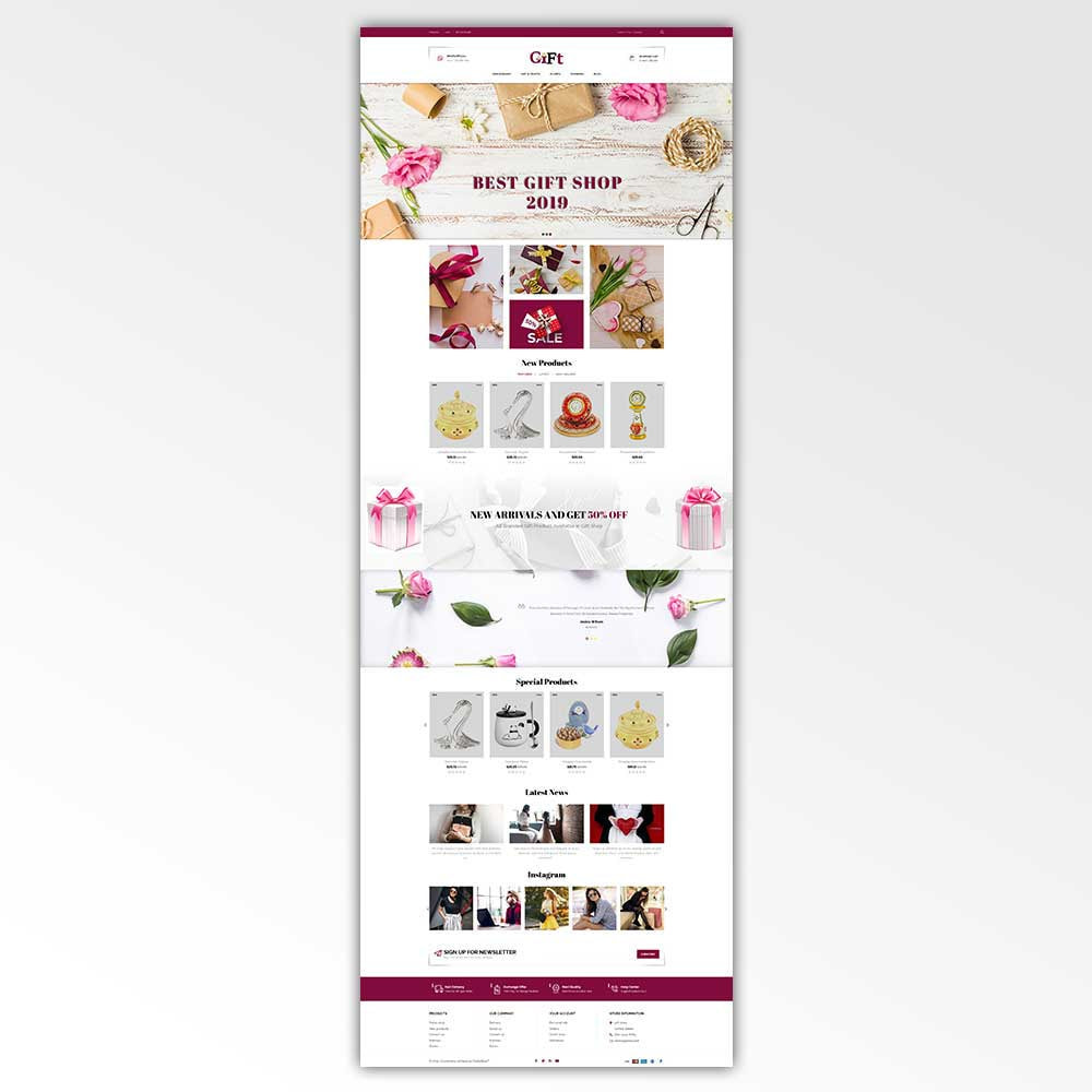 theme - Cadeaus, Bloemen & Gelegenheden - Gift - Store - 2