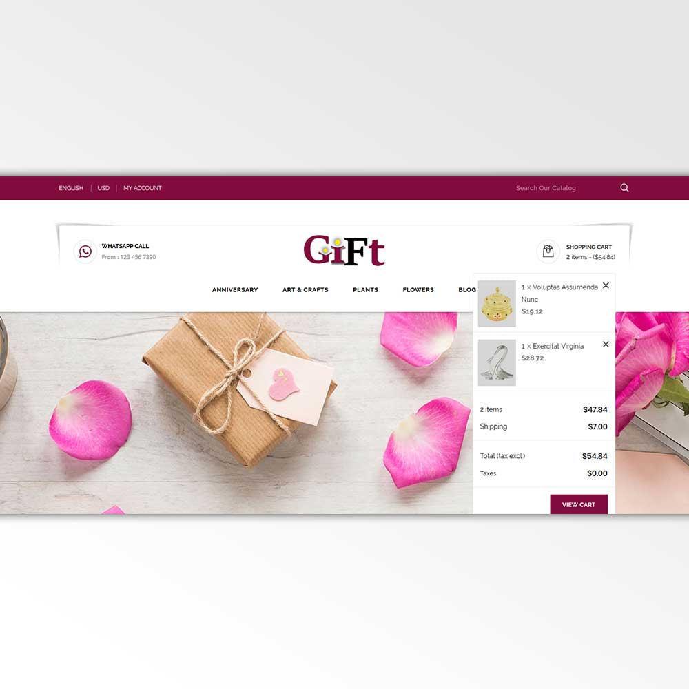 theme - Cadeaus, Bloemen & Gelegenheden - Gift - Store - 9