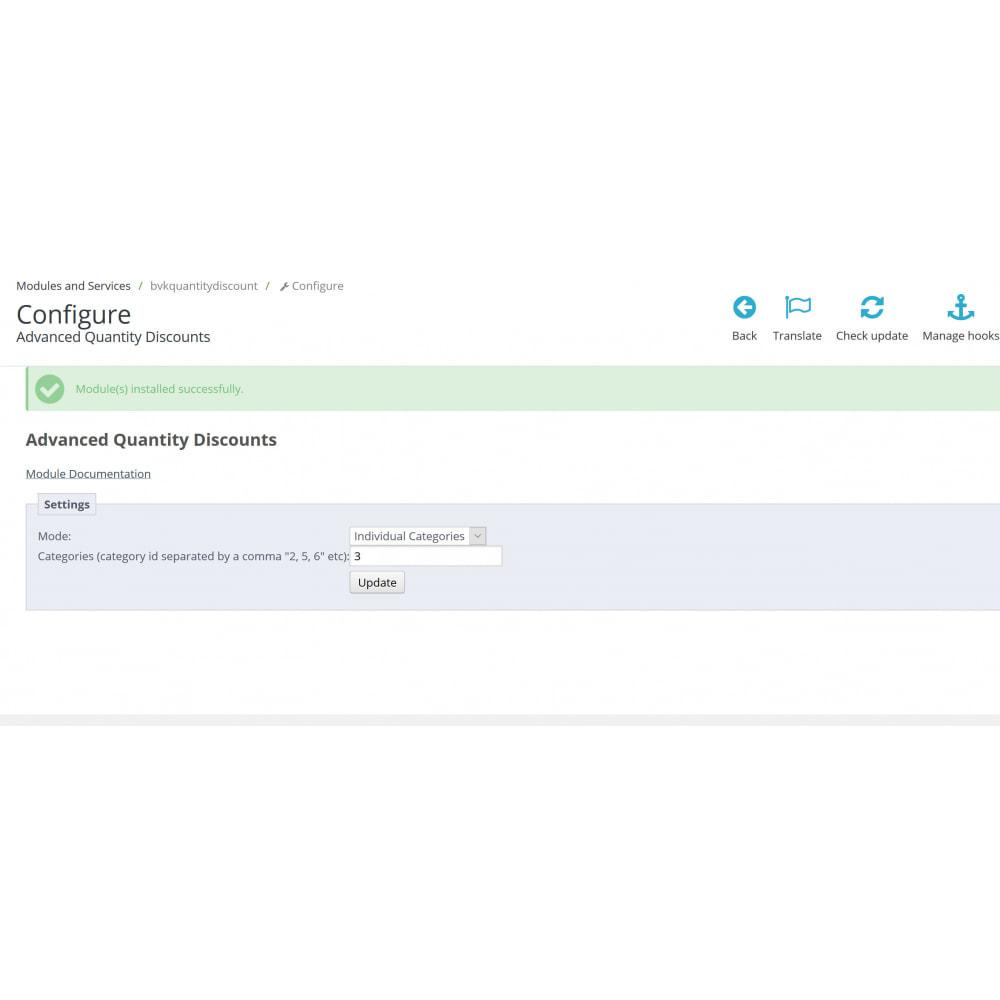 module - Gestão de preços - Advanced Quantity Discounts - 1