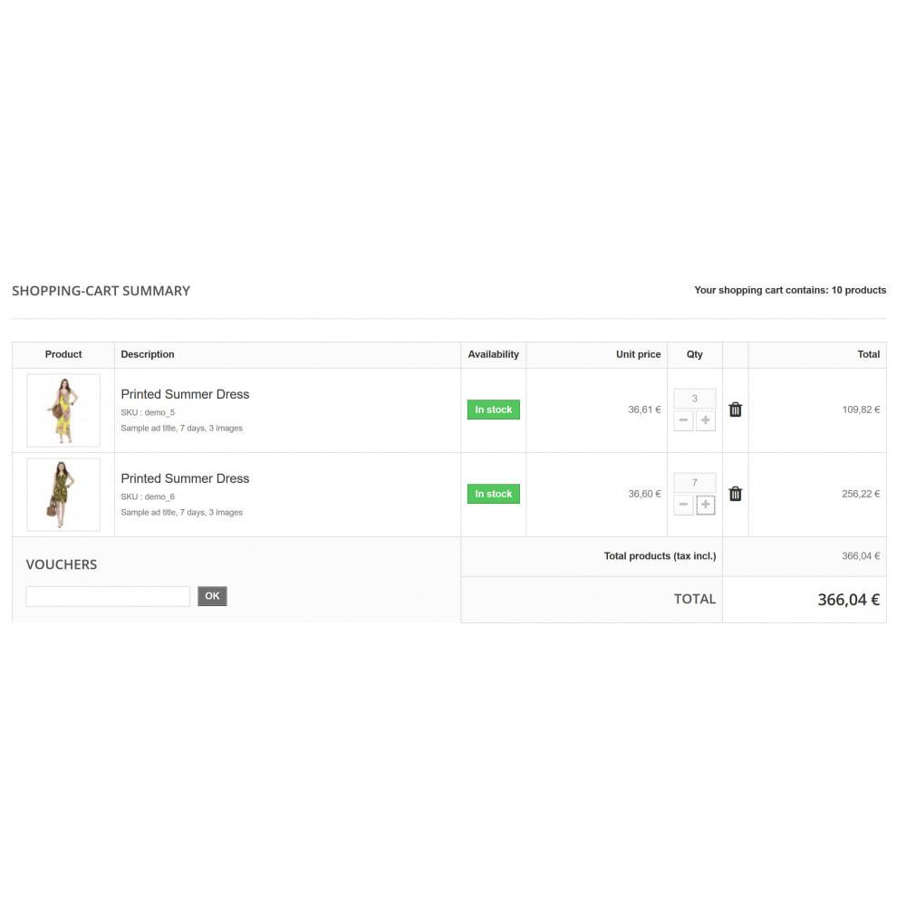 module - Gestão de preços - Advanced Quantity Discounts - 2