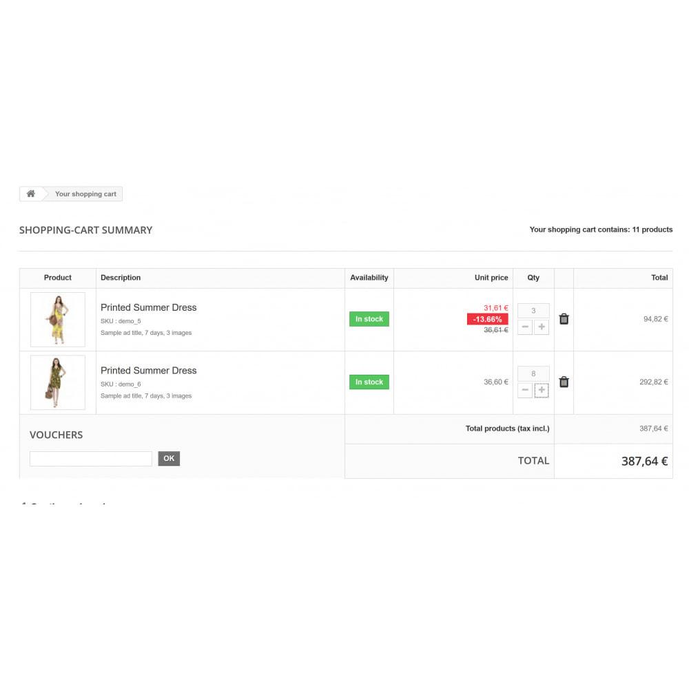 module - Gestão de preços - Advanced Quantity Discounts - 3