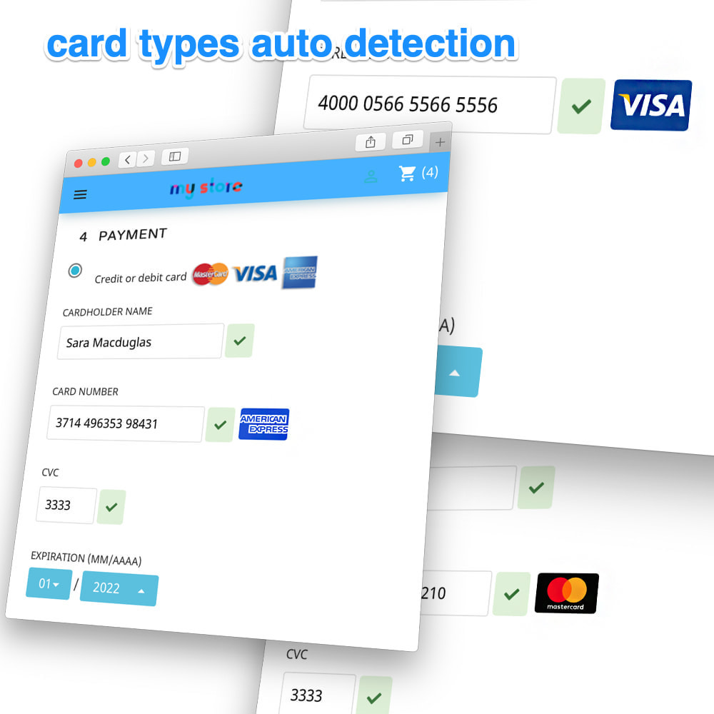 module - Payment by Card or Wallet - PsiGate credit card transactions API - 4