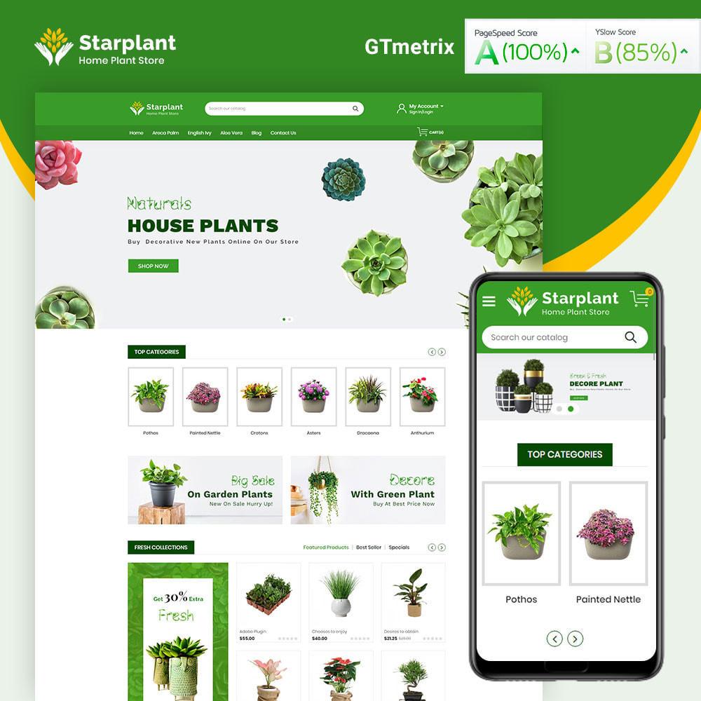 theme - Casa & Giardino - Starplant Plant Store - 1