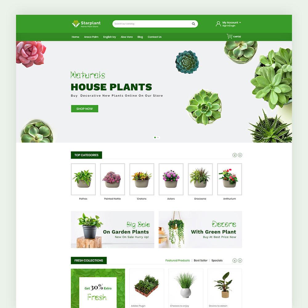 theme - Casa & Giardino - Starplant Plant Store - 2
