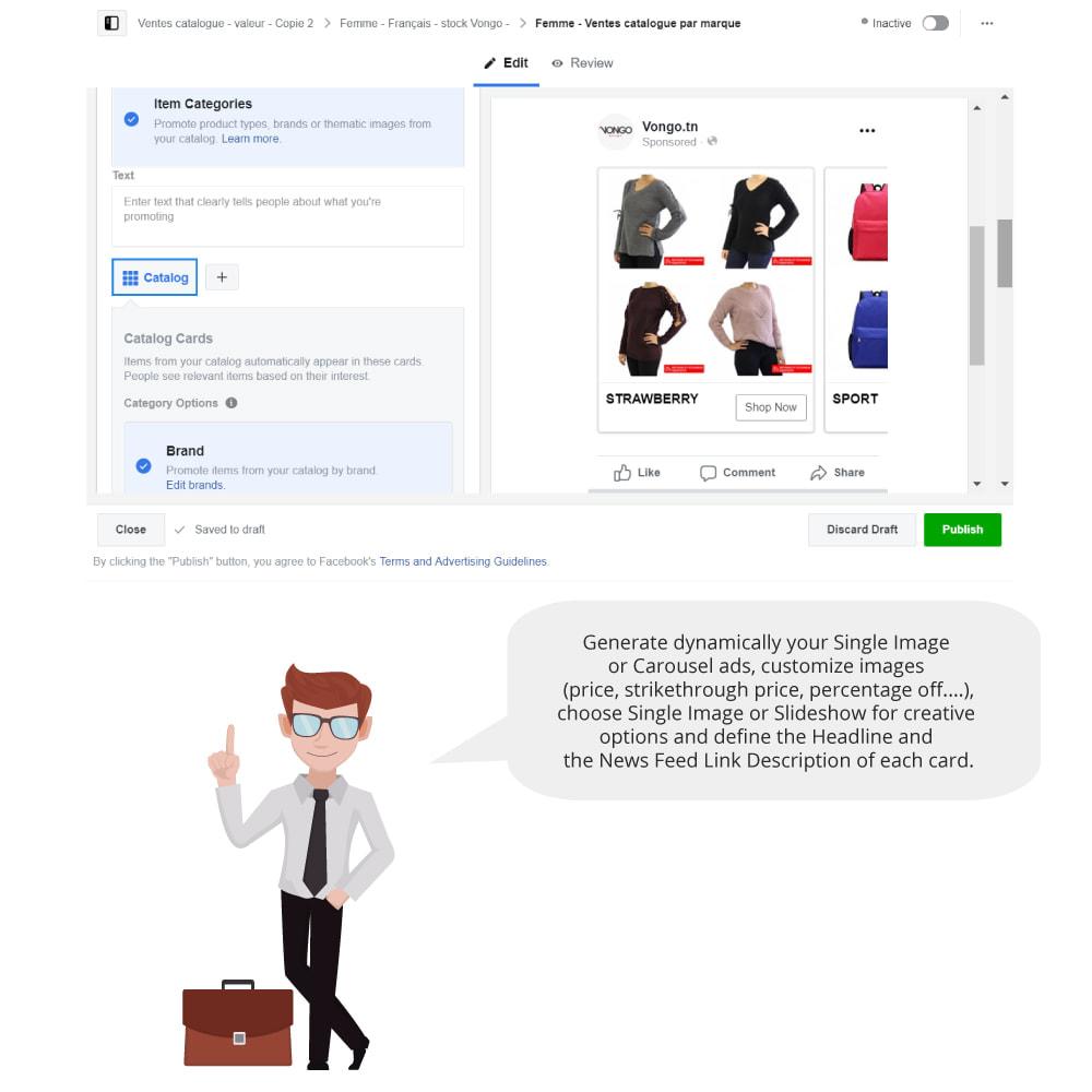 module - Productos en Facebook & redes sociales - Catalog & Pixel for Dynamic Ads & Shop - 6