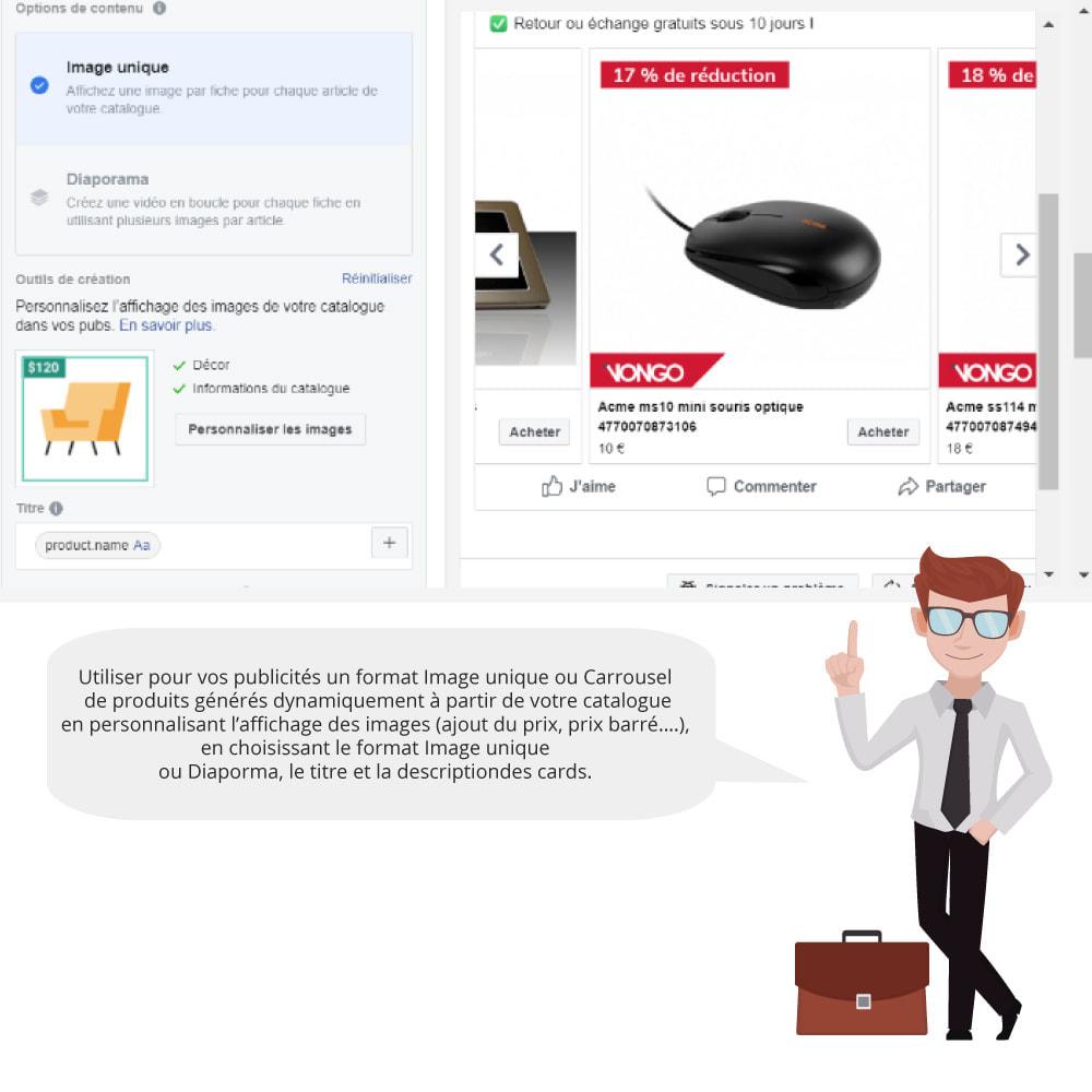module - Produits sur Facebook & réseaux sociaux - Catalogue & Pixel pour Dynamic Ads & Boutique - 5