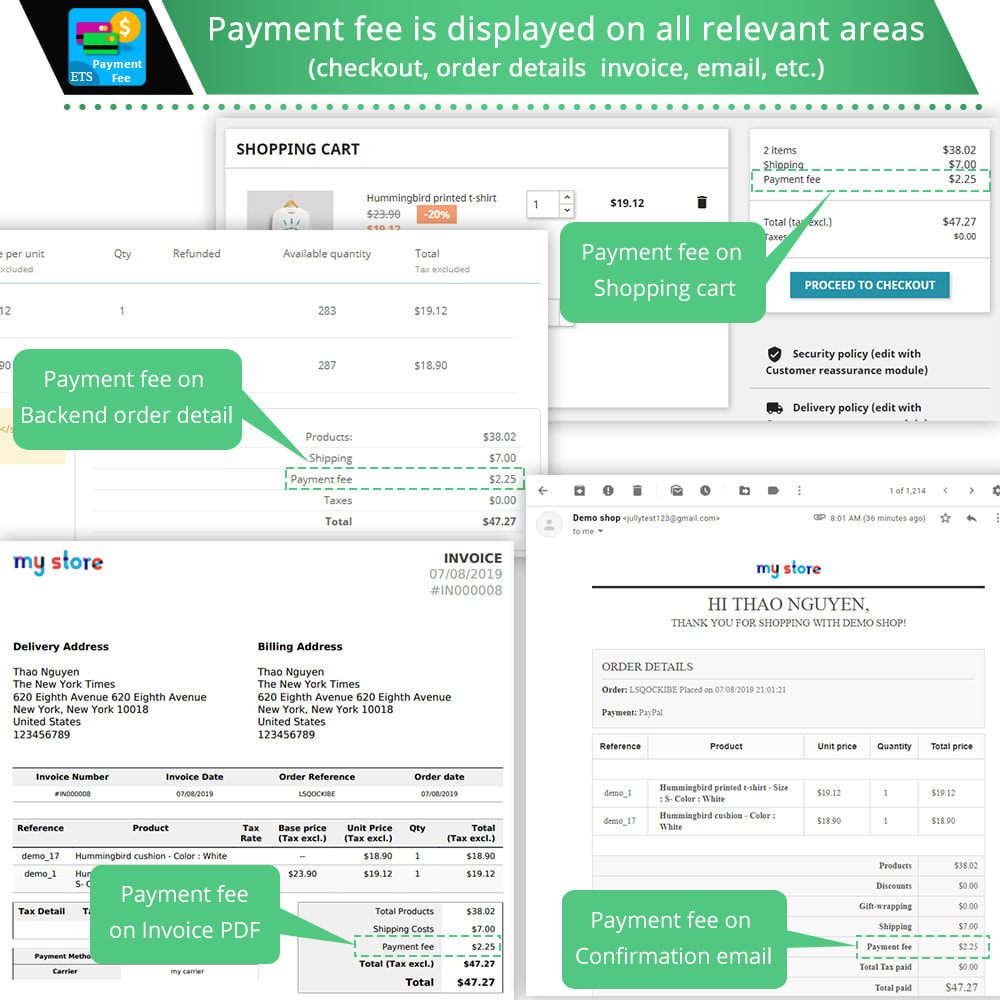 module - Andere Zahlungsmethoden - Payment With Fee & Custom Payment Methods - 5