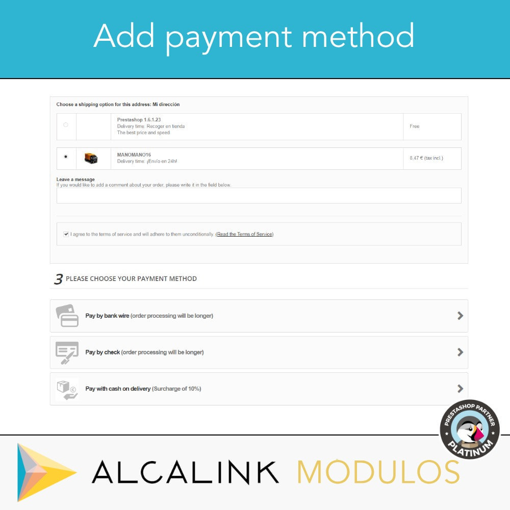 module - Оплата при доставке - Payment cash on delivery with commission/surcharge - 4