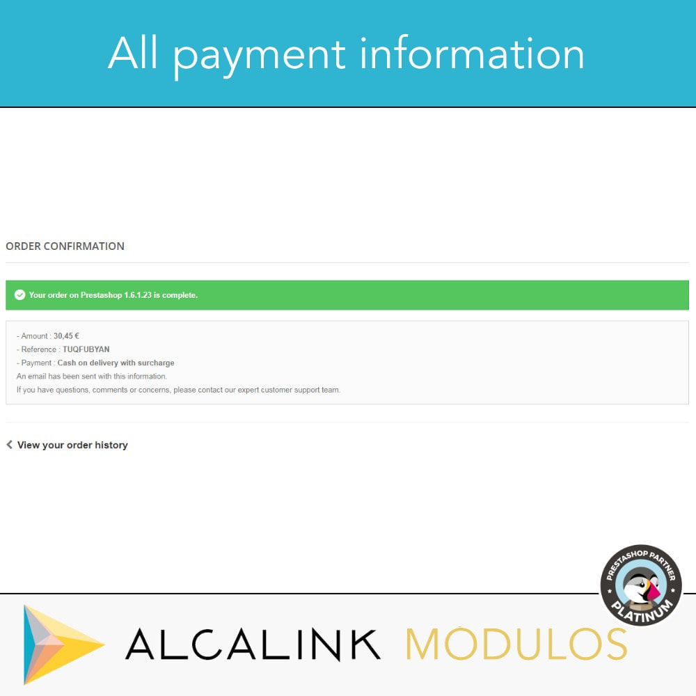 module - Оплата при доставке - Payment cash on delivery with commission/surcharge - 5