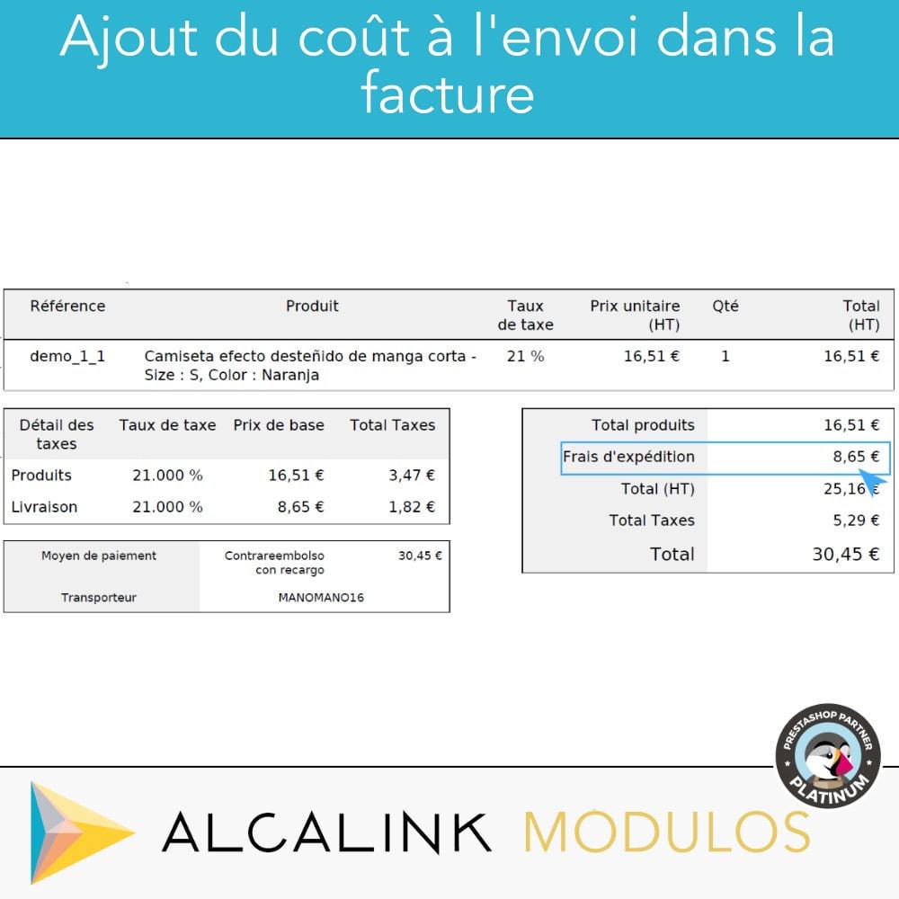 module - Paiement à la Livraison (COD) - Paiement à la livraison avec commission/supplément - 6
