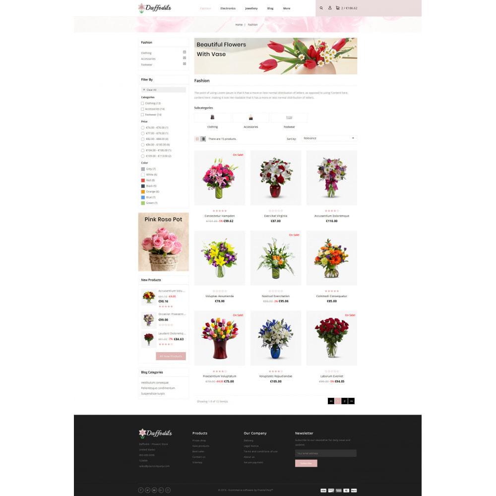 theme - Prezenty, Kwiaty & Uroczystości - Daffodils - Flowers Store - 3
