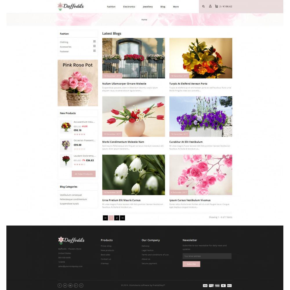 theme - Prezenty, Kwiaty & Uroczystości - Daffodils - Flowers Store - 9
