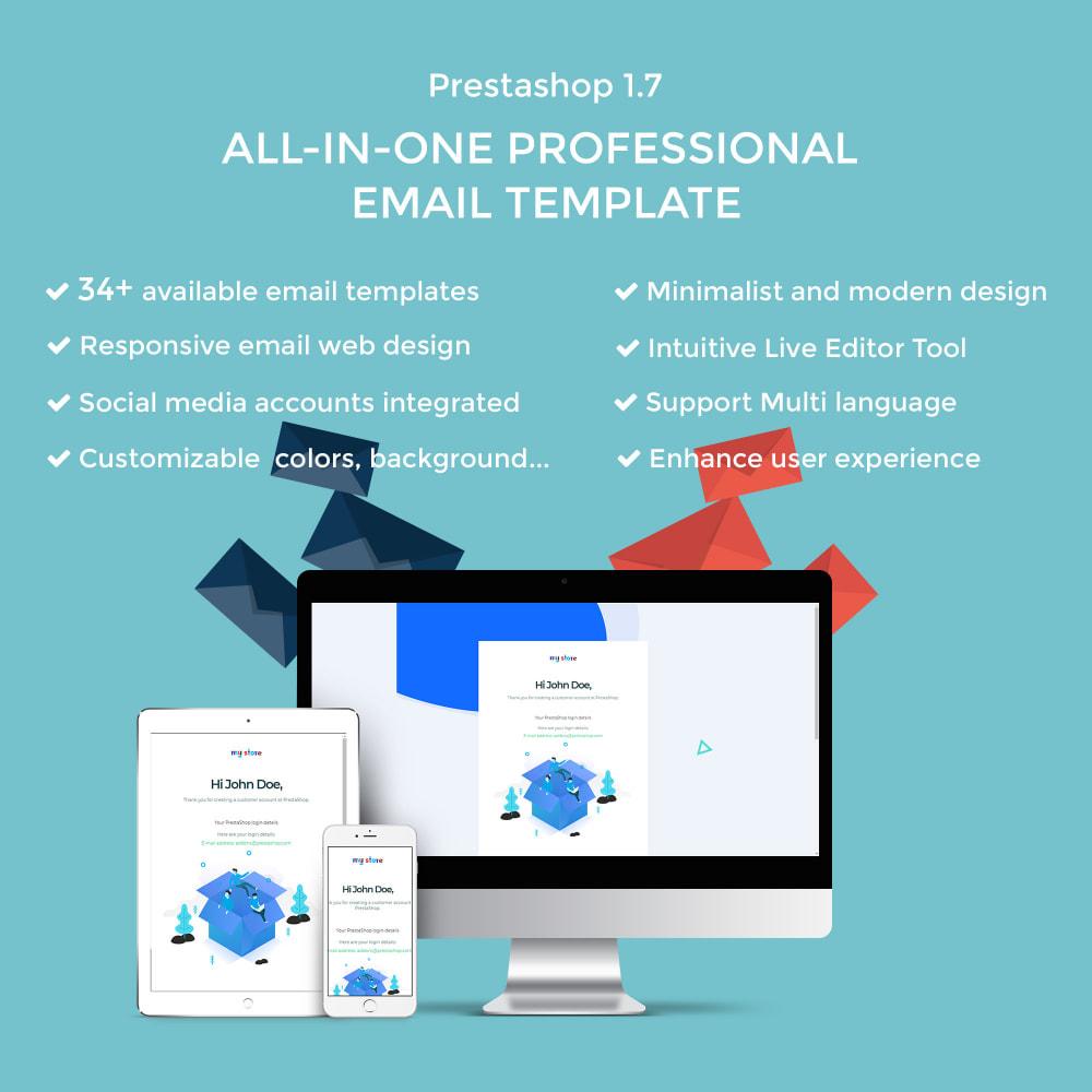 email - Plantillas de correos electrónicos PrestaShop - Ap Email Fuho - 1