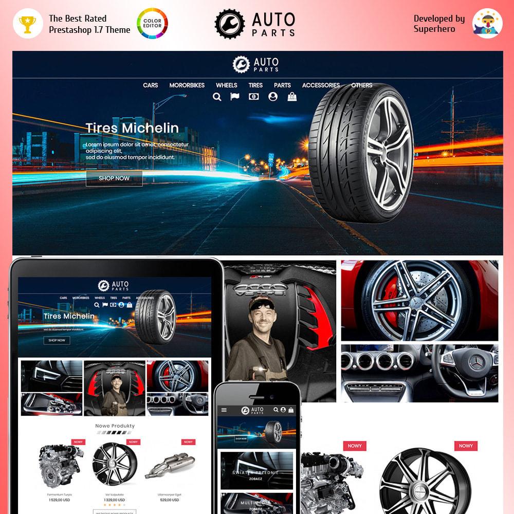 theme - Авто и Мото - Auto Moto Parts - 1