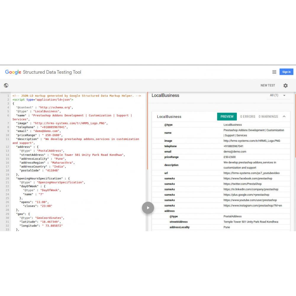 module - SEO (Posicionamiento en buscadores) - SEO Structured Data Schema Markup & Rich Snippet - 2