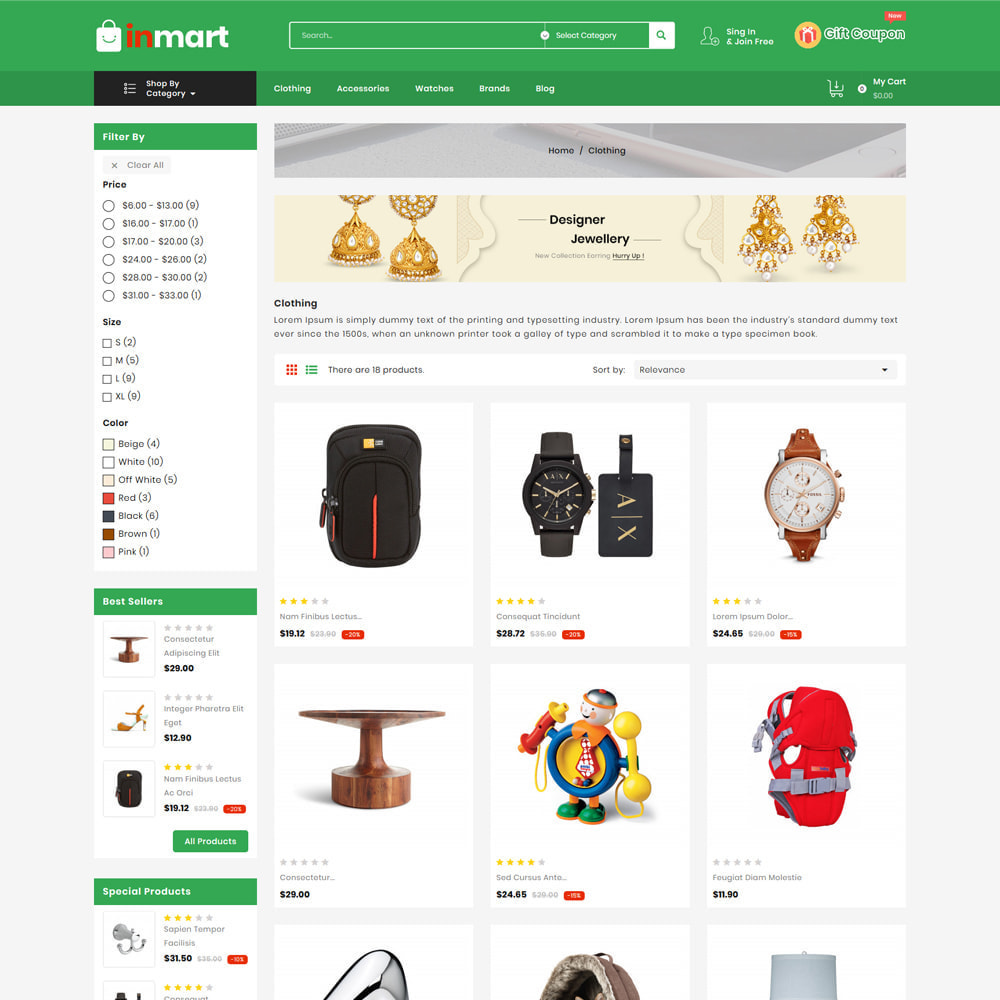 theme - Biżuteria & Akcesoria - Inmart Mega Shop - 3