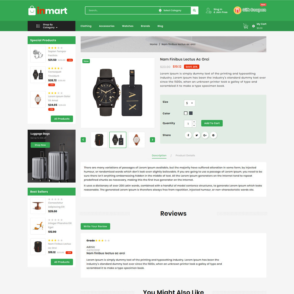 theme - Biżuteria & Akcesoria - Inmart Mega Shop - 4