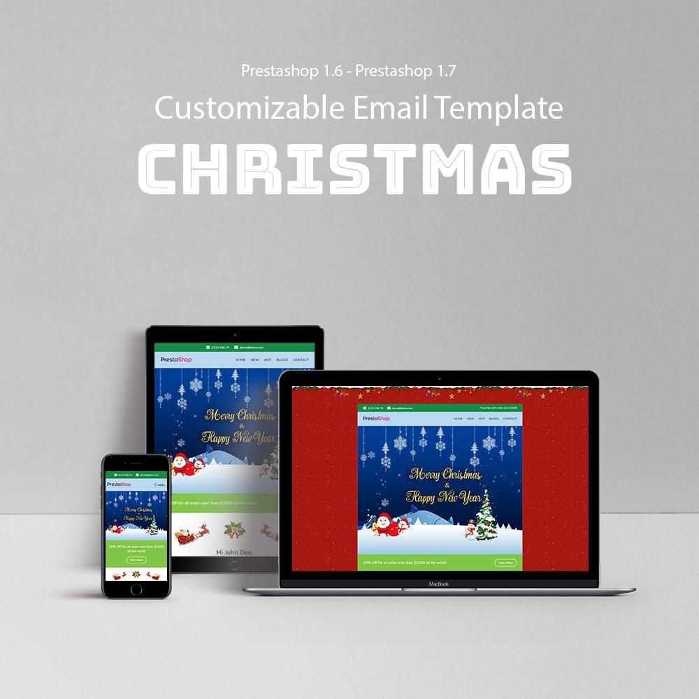 email - Plantillas de correos electrónicos PrestaShop - Christmas - Template emails and for emails of module - 1