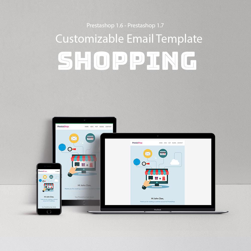 email - Modelos de e-mails da PrestaShop - Shopping - Template emails and for emails of module - 1