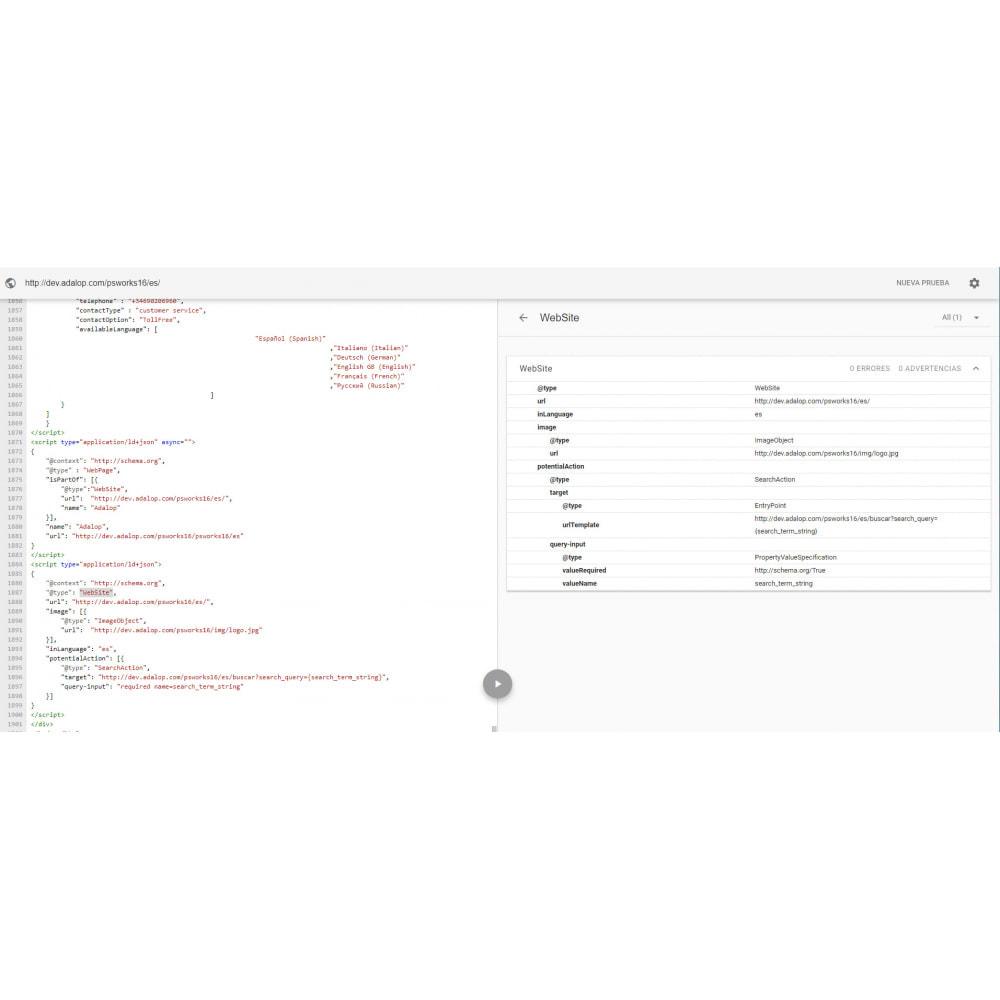 module - SEO - Integration JSON-LD MIKRODATEN und OPEN GRAPH - 20