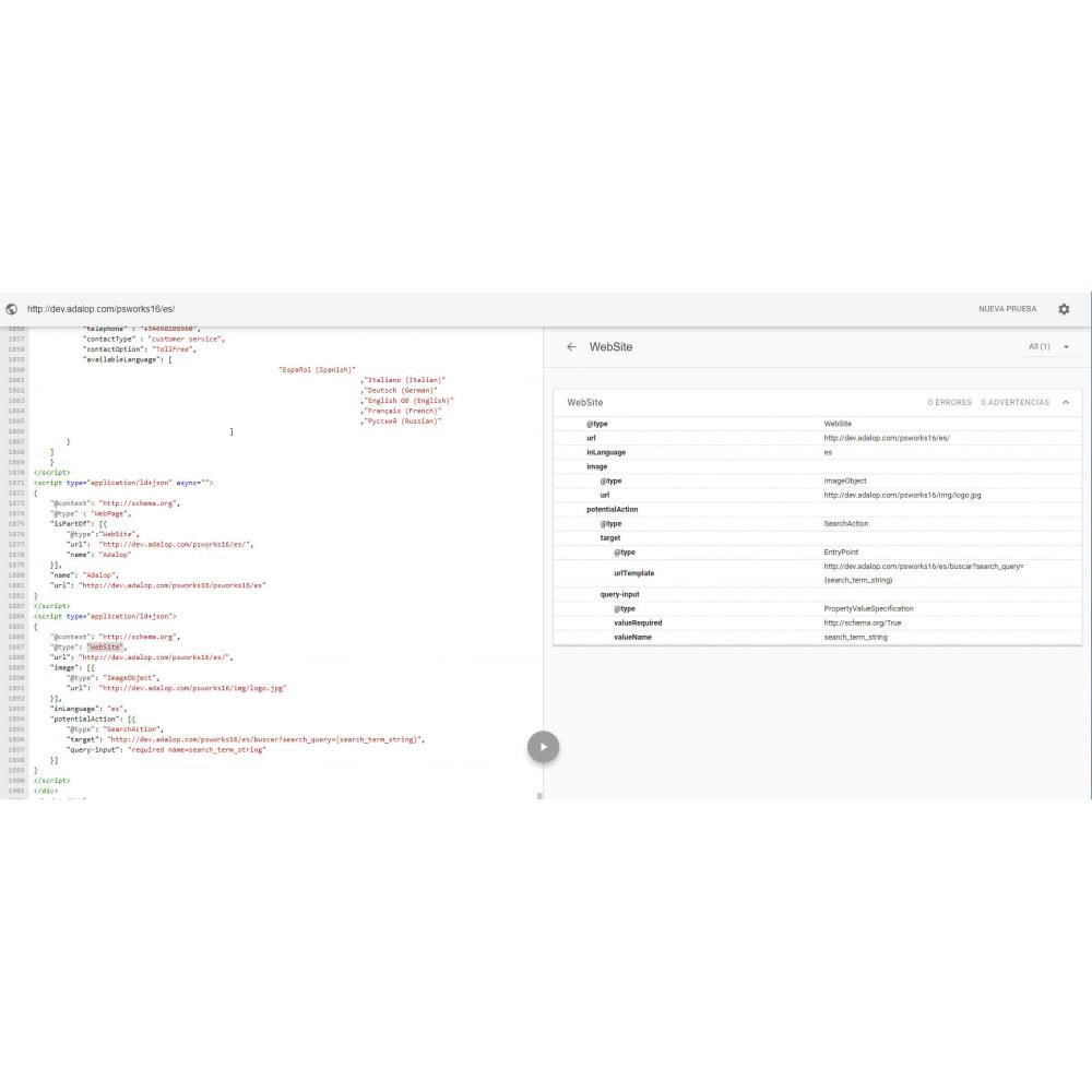 module - SEO (référencement naturel) - Intégration JSON-LD MICRODONNÉES et OPEN GRAPH - SEO - 20