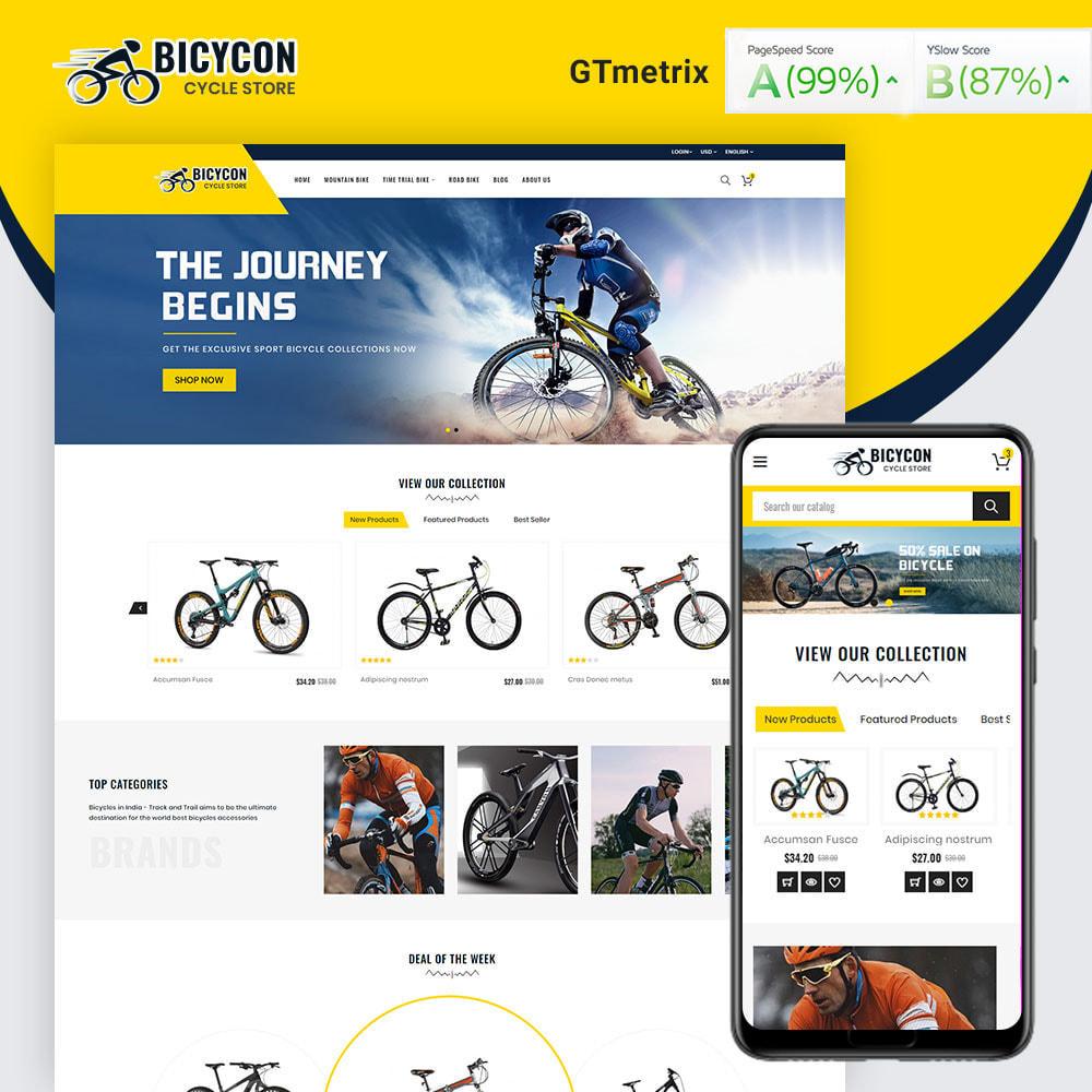 theme - Sport, Activiteiten & Reizen - Bicycon Cycle Store - 1