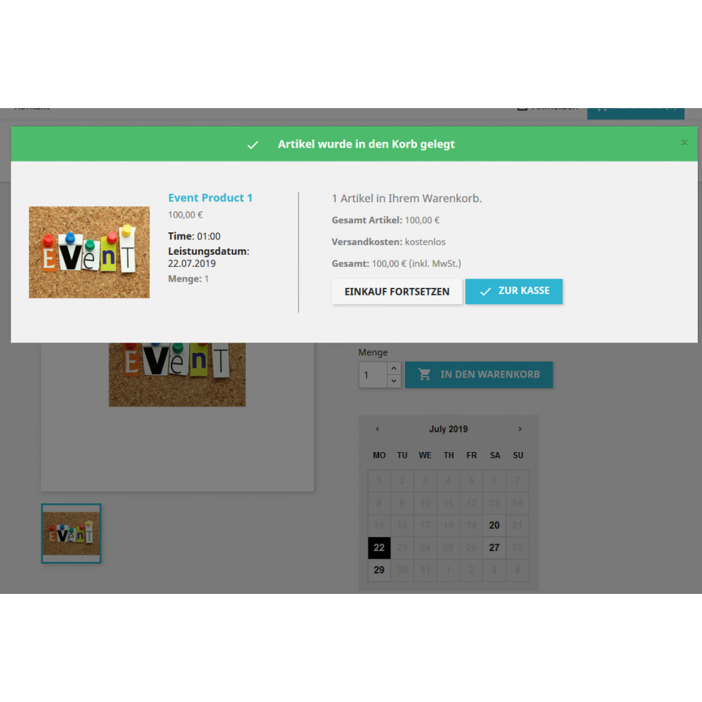 module - Reservation & Rental System - Recurring Events Calendar PRO, Sell Your Events Online - 7