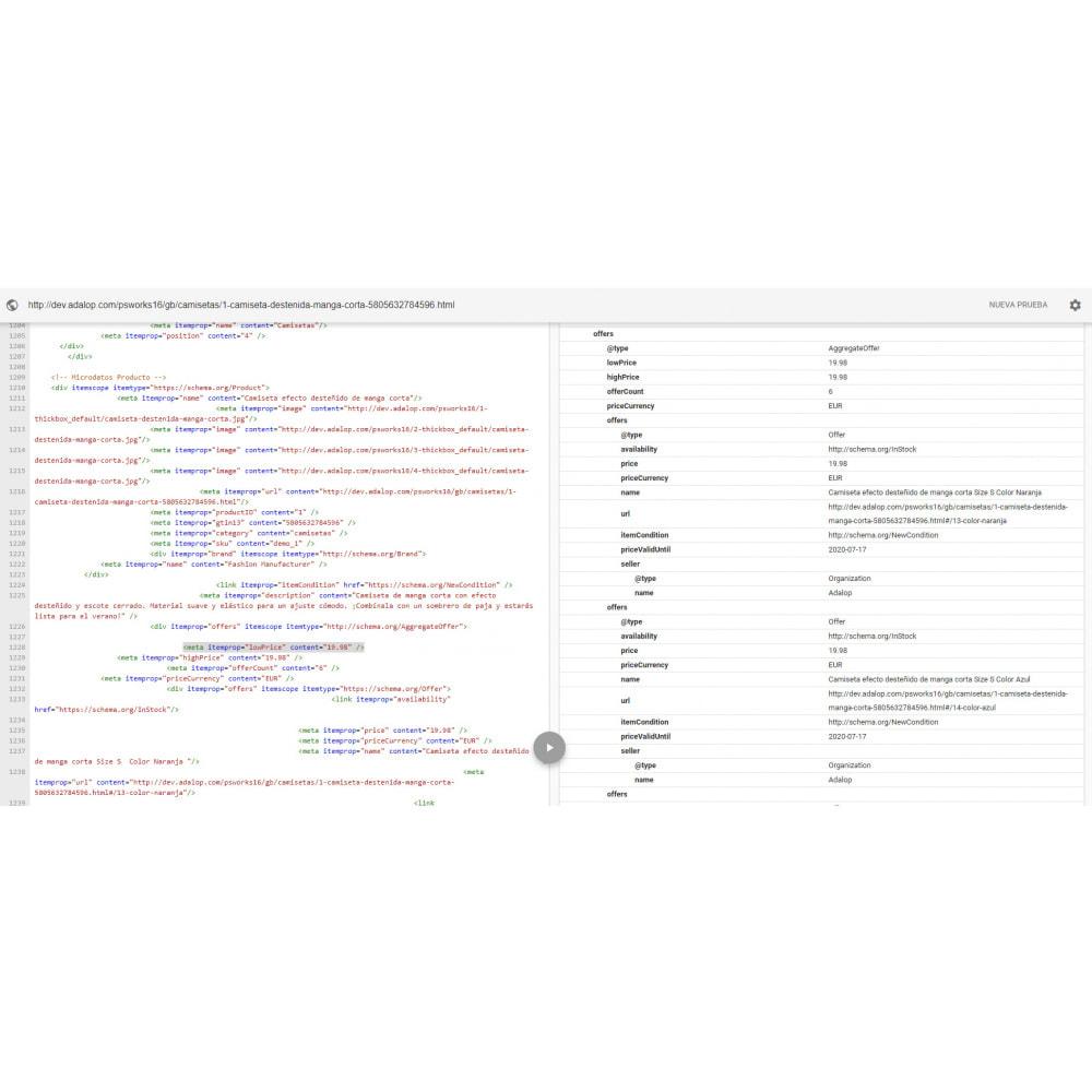 module - SEO (Posicionamiento en buscadores) - Integración JSON-LD MICRODATOS y OPEN GRAPH - SEO - 27