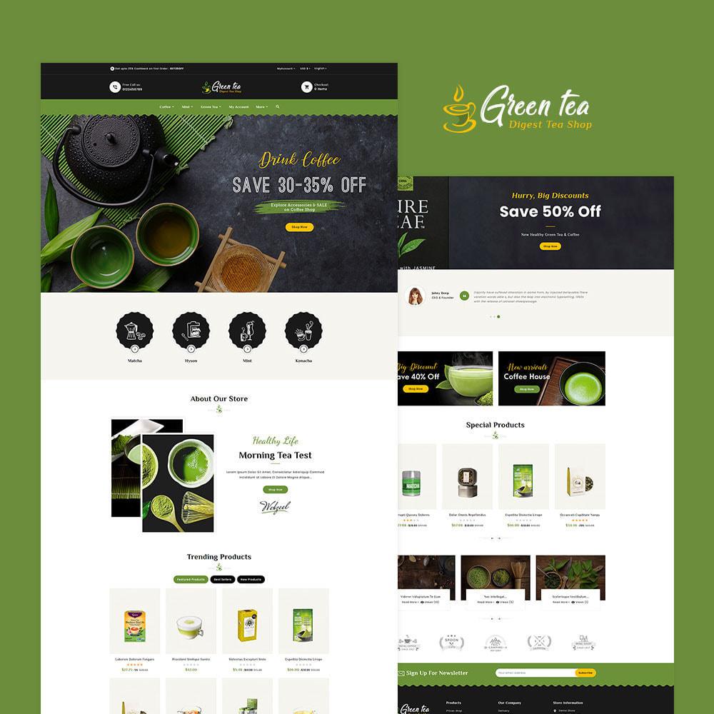 theme - Salud y Belleza - Green Tea - Digest Tea Shop - 2