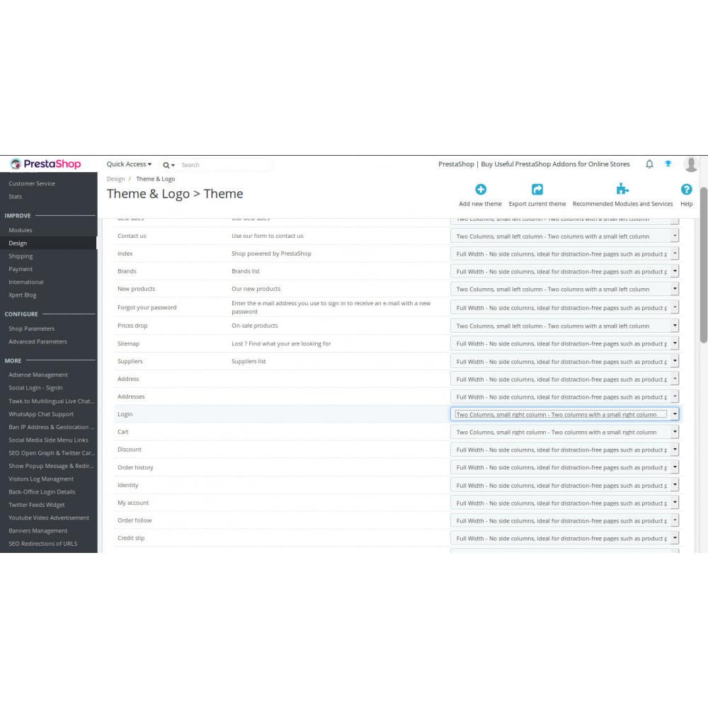 module - Login & Verbinden - Social Login über soziale Netzwerke - 3
