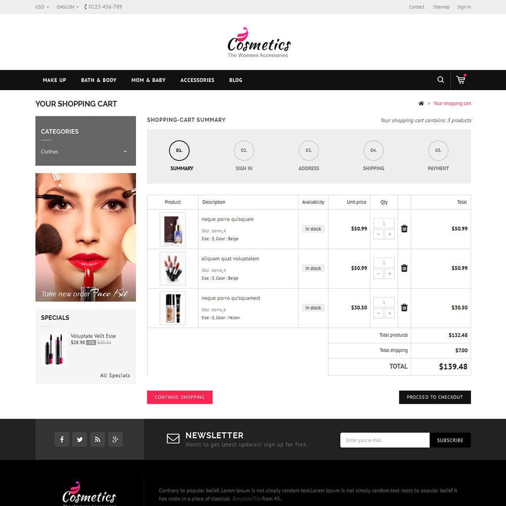theme - Saúde & Beleza - Cosmetic Store - 5