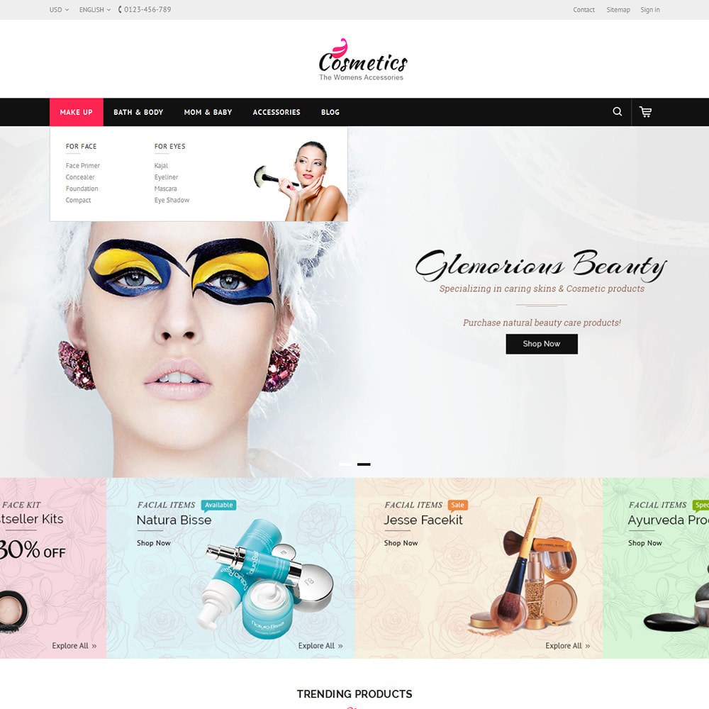 theme - Saúde & Beleza - Cosmetic Store - 6