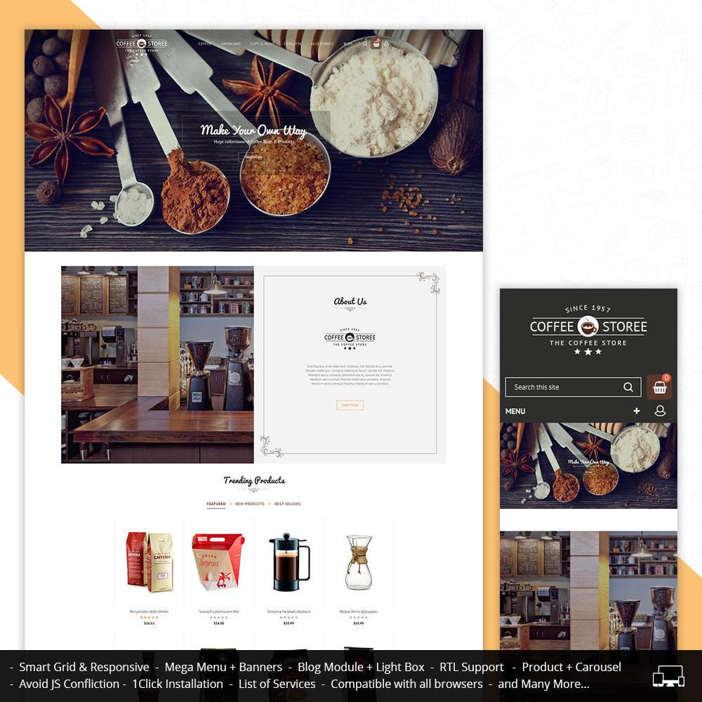 theme - Bebidas & Tabaco - Coffee Store - 1