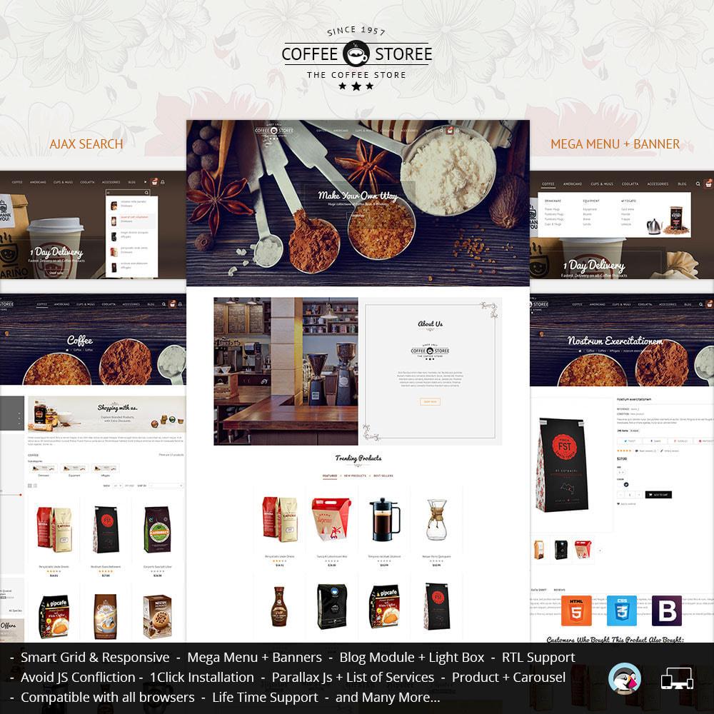 theme - Bebidas & Tabaco - Coffee Store - 2