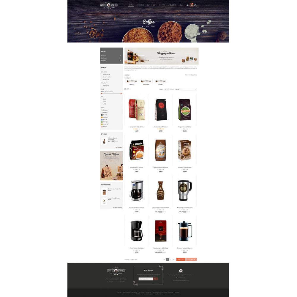theme - Bebidas & Tabaco - Coffee Store - 3