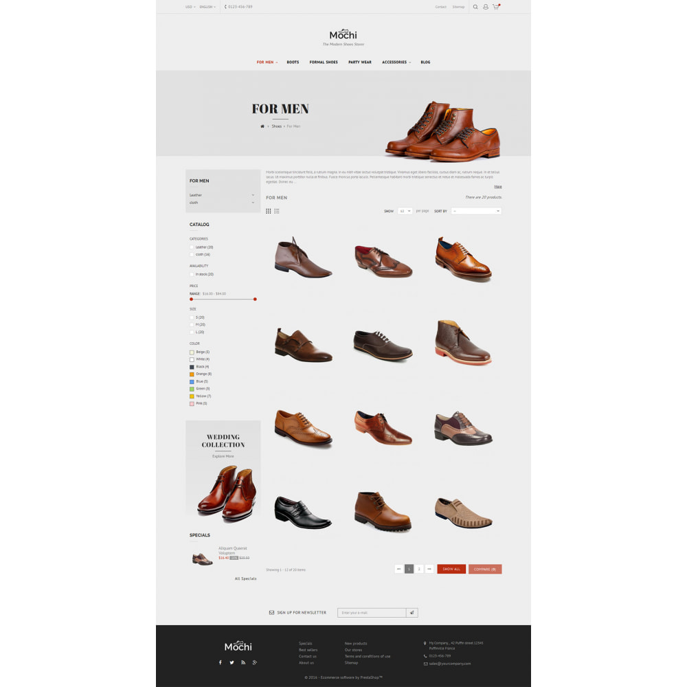 theme - Fashion & Shoes - Mochi Shoes Store - 5